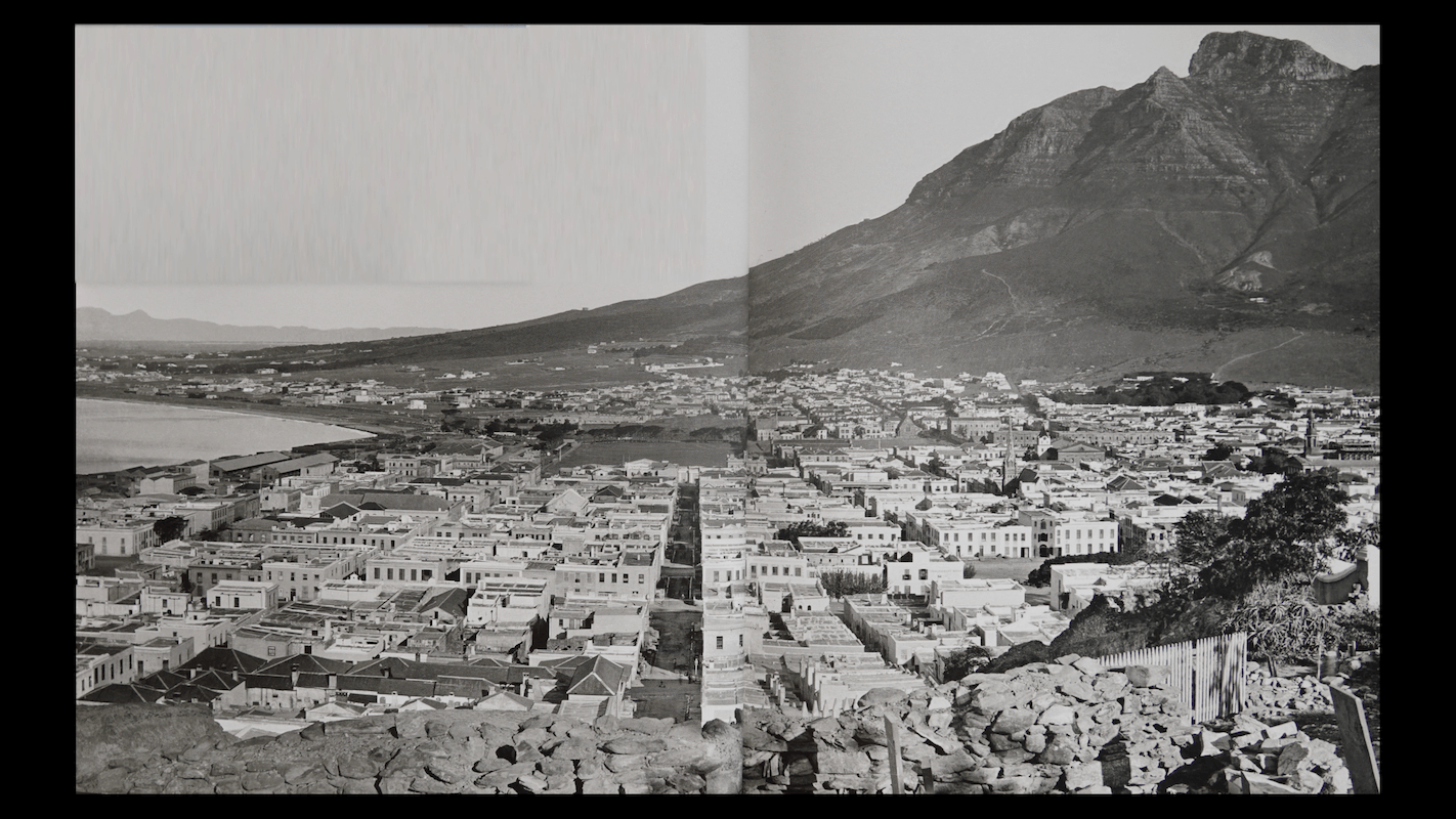 Cape Town Table Mountain Close Up BEFORE 1922