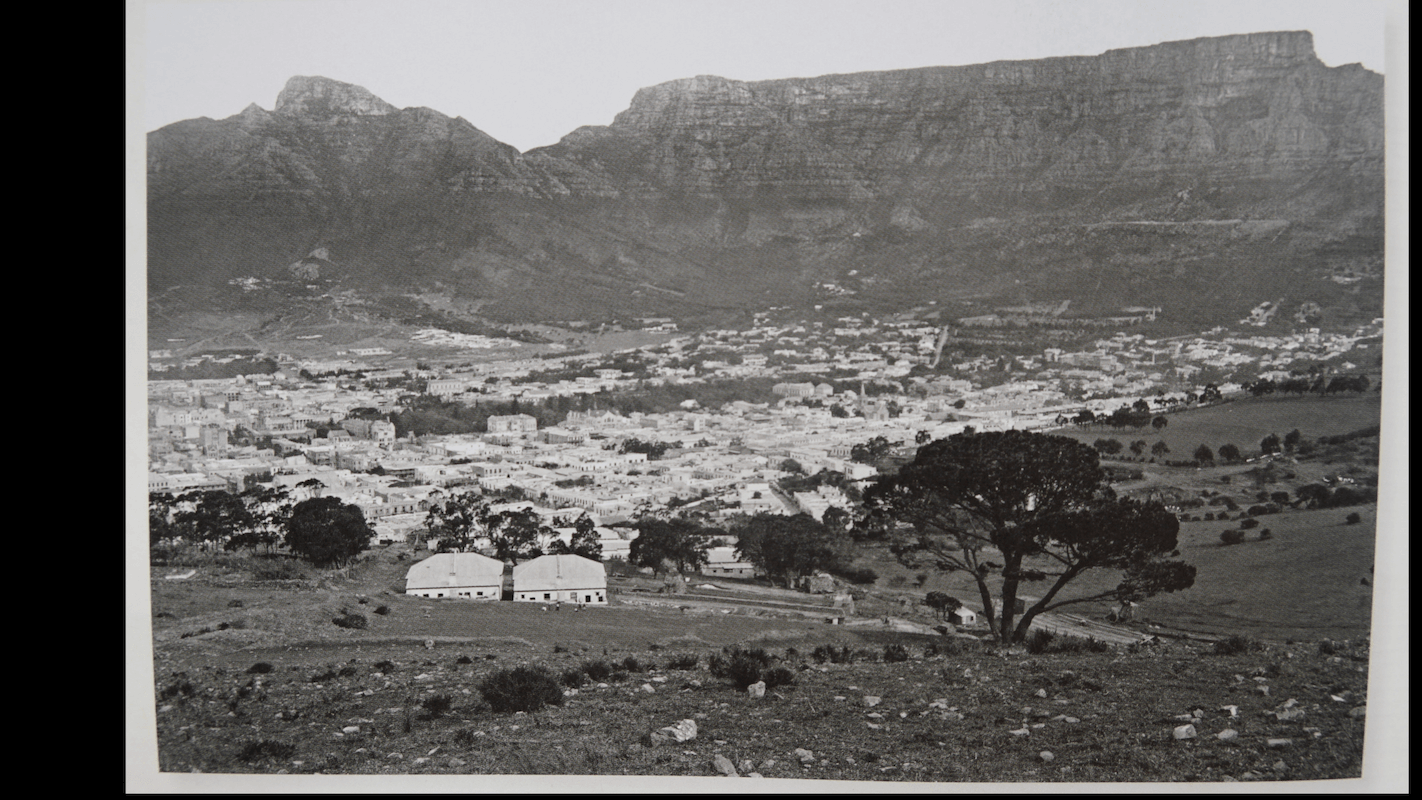 Cape Town Table Mountain wide BEFORE 1924