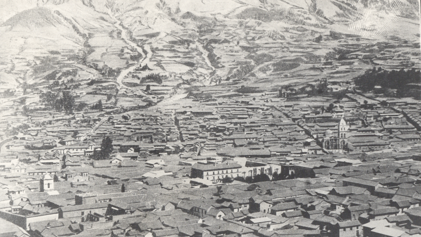 La Paz City Center BEFORE 1912