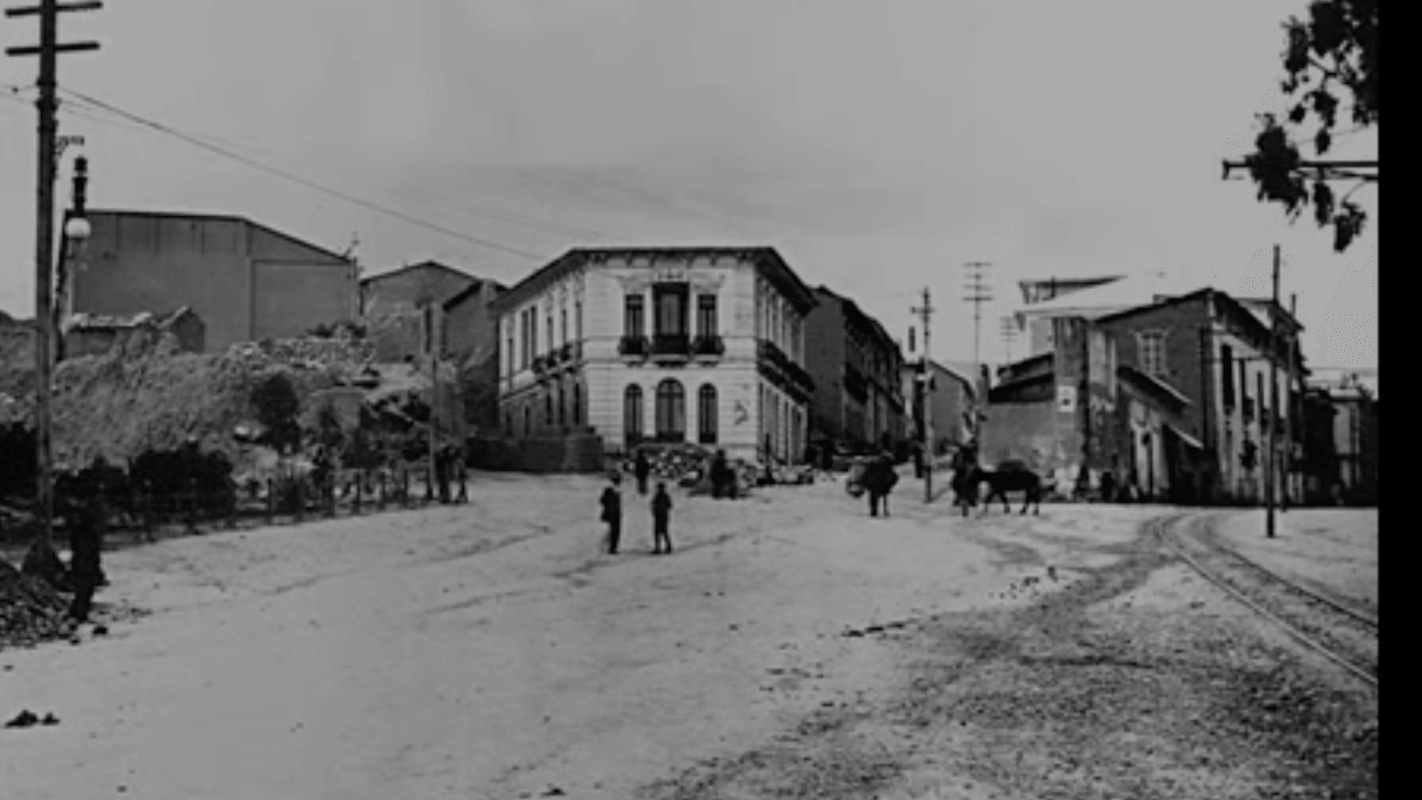 La Paz Crossing BEFORE 1924