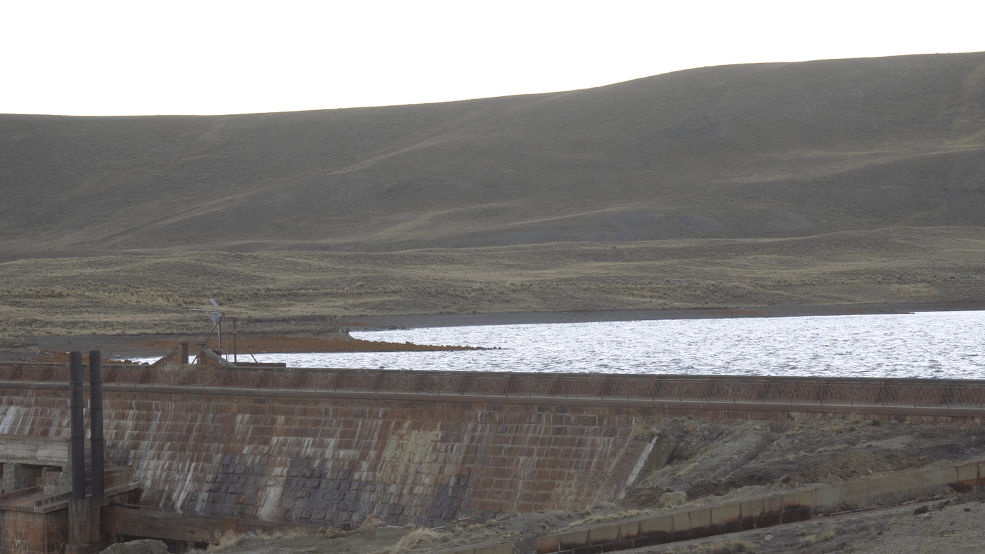 La Paz Water Reservoir BEFORE 2014